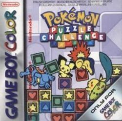 Box artwork for Pokémon Puzzle Challenge.