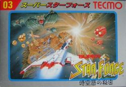Box artwork for Super Star Force.