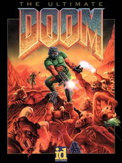Box artwork for Doom.