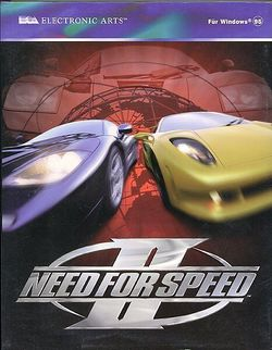 Box artwork for Need for Speed II.