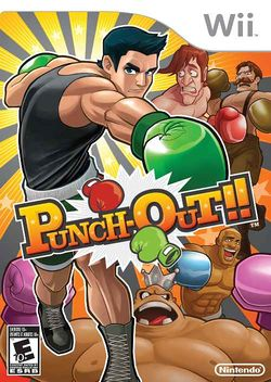 Box artwork for Punch-Out!! (Wii).