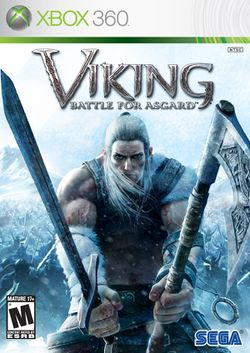 Box artwork for Viking: Battle for Asgard.