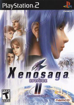 Box artwork for Xenosaga Episode II: Jenseits von Gut und Böse.