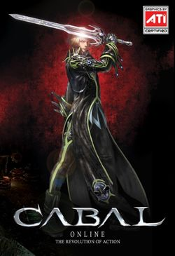 Box artwork for Cabal Online.
