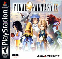 Box artwork for Final Fantasy IX.