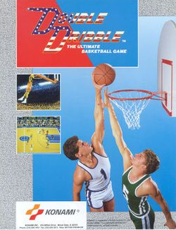 Box artwork for Double Dribble.