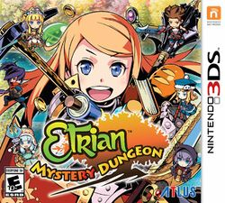 Box artwork for Etrian Mystery Dungeon.