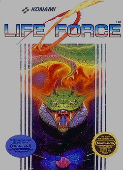 Box artwork for Life Force.