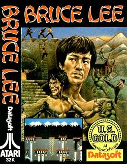 Box artwork for Bruce Lee.