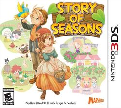 Box artwork for Story of Seasons.