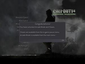 Call Of Duty 4 Modern Warfare Arcade Mode Strategywiki