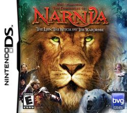 Box artwork for The Chronicles of Narnia: The Lion, the Witch and the Wardrobe.