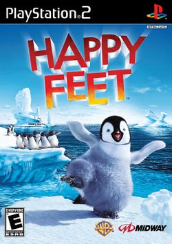 Box artwork for Happy Feet.