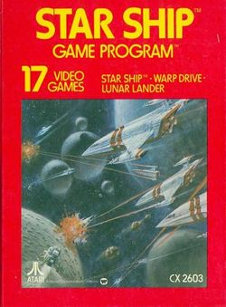 Box artwork for Star Ship.