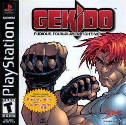 Box artwork for Gekido.