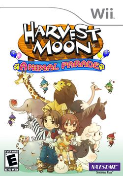 Box artwork for Harvest Moon: Animal Parade.
