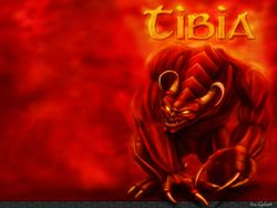 Box artwork for Tibia.
