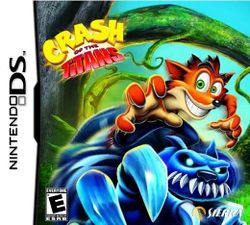 Box artwork for Crash of the Titans.
