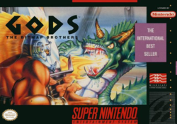 Box artwork for Gods.