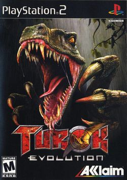 Box artwork for Turok: Evolution.