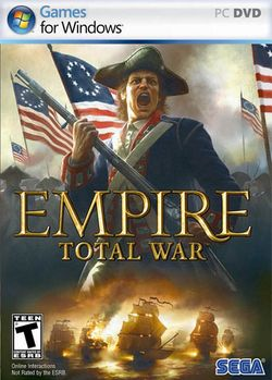 Box artwork for Empire: Total War.