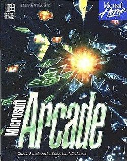 Box artwork for Microsoft Arcade.