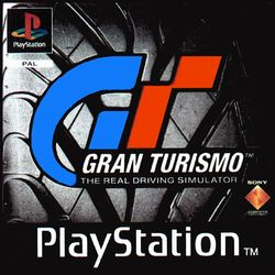 Box artwork for Gran Turismo.