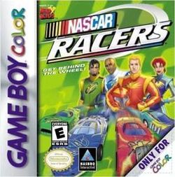 Box artwork for NASCAR Racers.