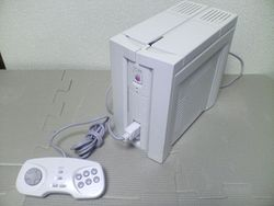 The console image for PC-FX.