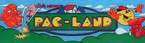 Pac-Land marquee