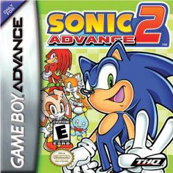 Box artwork for Sonic Advance 2.
