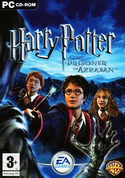Box artwork for Harry Potter and the Prisoner of Azkaban.