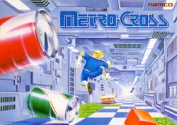 Box artwork for Metro-Cross.