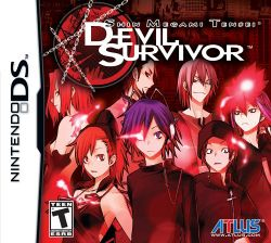Box artwork for Shin Megami Tensei: Devil Survivor.