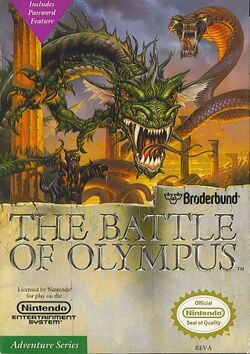 Box artwork for The Battle of Olympus.