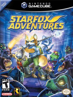 Box artwork for Star Fox Adventures.
