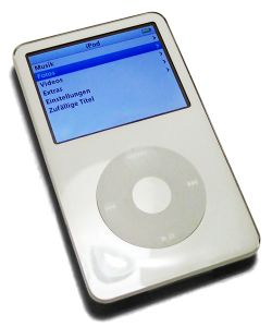 The console image for iPod.