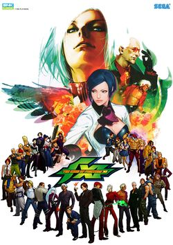 Box artwork for The King of Fighters XI.