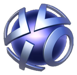 The logo for PlayStation Network.