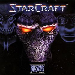 Box artwork for StarCraft.