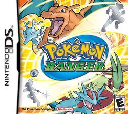 Box artwork for Pokémon Ranger.