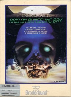 Box artwork for Raid on Bungeling Bay.