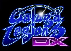 Box artwork for Galaga Legions DX.