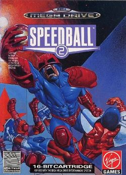 Box artwork for Speedball 2: Brutal Deluxe.