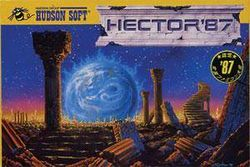 Box artwork for Hector '87 / Starship Hector.