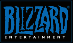 Blizzard Entertainment's company logo.