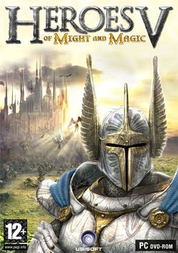 Box artwork for Heroes of Might and Magic V.