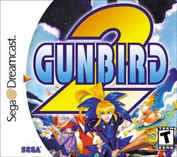Box artwork for Gunbird 2.