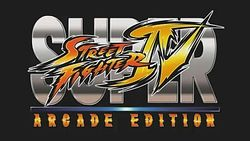 Box artwork for Super Street Fighter IV: Arcade Edition.