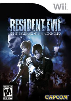Box artwork for Resident Evil: The Darkside Chronicles.